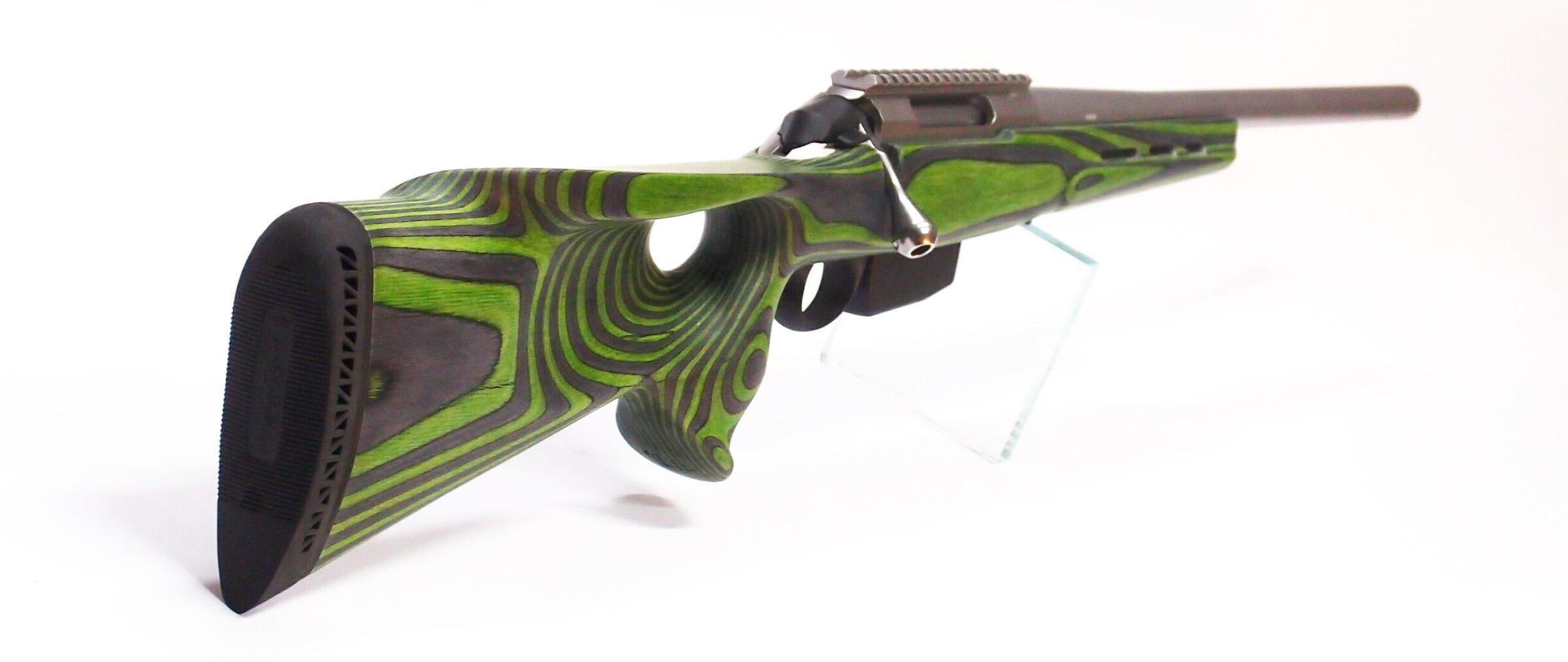 Tikka T3 Laminated Wood zombi green