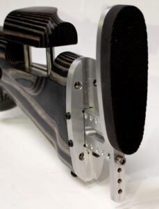 Mauser M18 Laminated Wood varied black – varied medium grey – silver grey